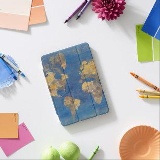 Capa Para iPad Mini Mundo dourado