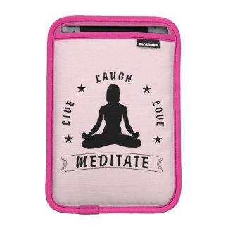Capa Para iPad Mini O amor vivo do riso Meditate o texto fêmea (o