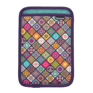 Capa Para iPad Mini O diamante colorido telhou o teste padrão floral