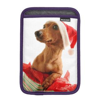 Capa Para iPad Mini O papai noel do Dachshund - cão do papai noel -