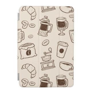 Capa Para iPad Mini Os feijões de café de Brown ilustraram o teste