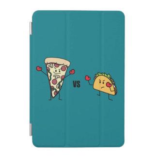 Capa Para iPad Mini Pizza de Pepperoni CONTRA o Taco: Mexicano contra