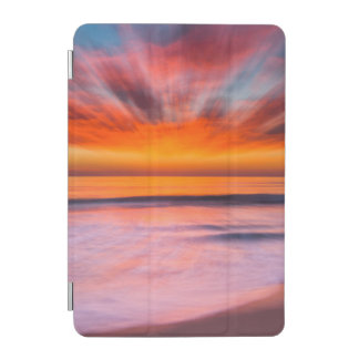 Capa Para iPad Mini Praia | Carlsbad de Tamarack do por do sol, CA