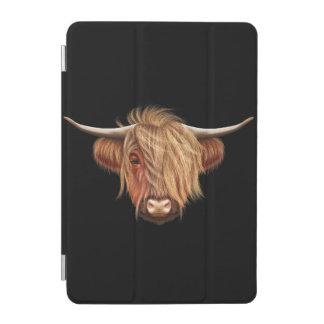 Capa Para iPad Mini Retrato ilustrado do gado das montanhas