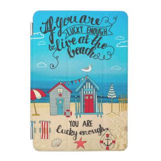 Capa Para iPad Mini Se você é citações afortunadas da praia do roteiro