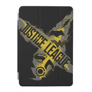 Capa Para iPad Mini Símbolos da liga & da equipe de justiça da liga de