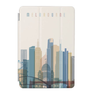 Capa Para iPad Mini Skyline da cidade de Melbourne, Austrália |