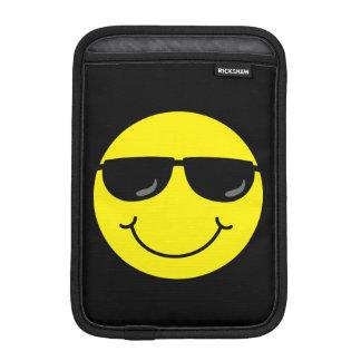 Capa Para iPad Mini Smiley face legal com óculos de sol