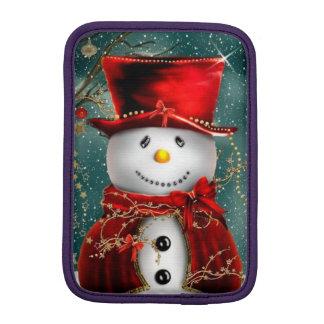 Capa Para iPad Mini Snowmans bonitos - ilustração do boneco de neve