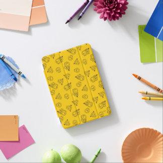 Capa Para iPad Mini Sr. Feliz & teste padrão amarelo pequeno da
