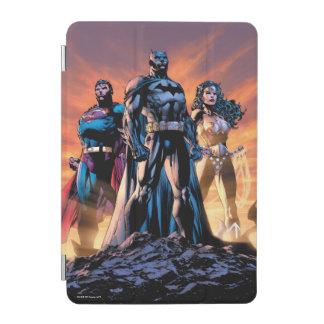 Capa Para iPad Mini Superman, Batman, & trindade da mulher maravilha