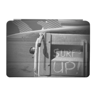 Capa Para iPad Mini Surfar ascendente do surf da prancha do surf preto