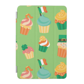Capa Para iPad Mini Teste padrão alaranjado verde engraçado bonito do
