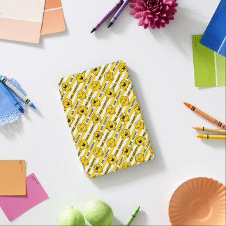 Capa Para iPad Mini Teste padrão amarelo das listras do Sr. Feliz |