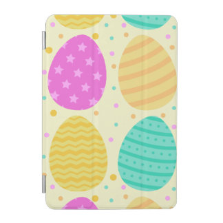 Capa Para iPad Mini Teste padrão colorido bonito dos ovos da páscoa