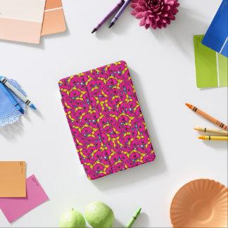 Capa Para iPad Mini Teste padrão cor-de-rosa brilhante pequeno da