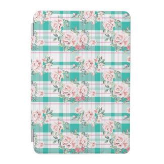Capa Para iPad Mini Teste padrão cor-de-rosa das flores bonitas do