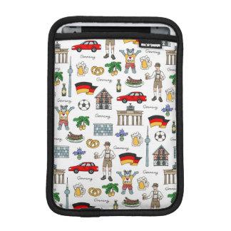Capa Para iPad Mini Teste padrão dos símbolos de Alemanha |