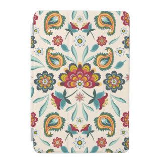 Capa Para iPad Mini Teste padrão indonésio amarelo floral e das