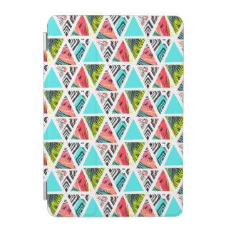 Capa Para iPad Mini Teste padrão tropical abstrato colorido