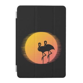 Capa Para iPad Mini Tranquilidade do flamingo do por do sol