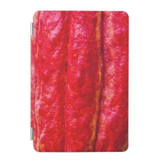 Capa Para iPad Mini vermelho do vagem do cacau