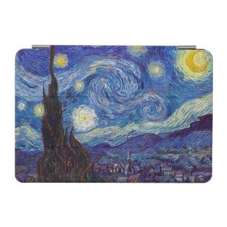 Capa Para iPad Mini VINCENT VAN GOGH - noite estrelado 1889