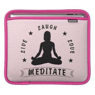 Capa Para iPad O amor vivo do riso Meditate o texto fêmea (o