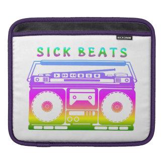 Capa Para iPad O doente bate os anos 80 estereofónicos