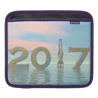 Capa Para iPad O feliz ano novo 2017 do zen - 3D rendem
