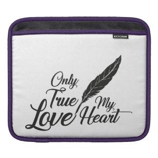 Capa Para iPad Pena verdadeira do amor da ilustração