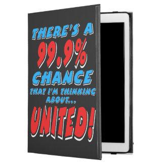 """Capa Para iPad Pro 12.9"""" 99,9% UNIDO (branco)"""