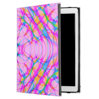 """Capa Para iPad Pro 12.9"""" Abstrato do teste padrão do caleidoscópio do rosa"""