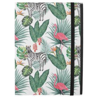 """Capa Para iPad Pro 12.9"""" Aguarela tropical da folha da zebra moderna do"""