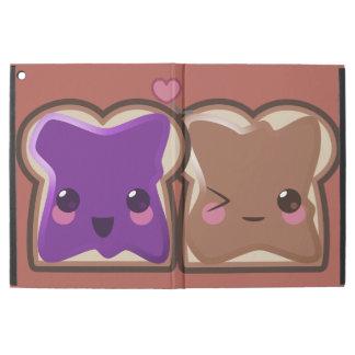 """Capa Para iPad Pro 12.9"""" Amor da manteiga e da geléia de amendoim"""