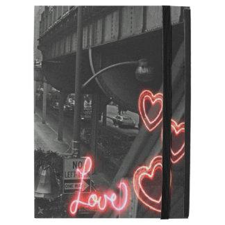 """Capa Para iPad Pro 12.9"""" Amor do néon do sinal do restaurante de Blackhawk"""