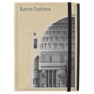 """Capa Para iPad Pro 12.9"""" Arquitetura clássica do panteão romano"""