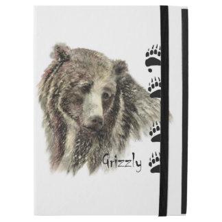 """Capa Para iPad Pro 12.9"""" Arte animal do urso de urso da aguarela com"""