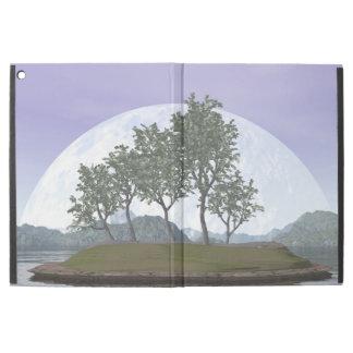 """Capa Para iPad Pro 12.9"""" Árvore com folhas lisa dos bonsais do olmo - 3D"""