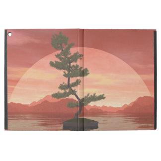 """Capa Para iPad Pro 12.9"""" Árvore dos bonsais do pinho escocês - 3D rendem"""