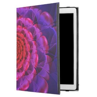 """Capa Para iPad Pro 12.9"""" Ascensão de uma flor Vermilion da espiral do"""