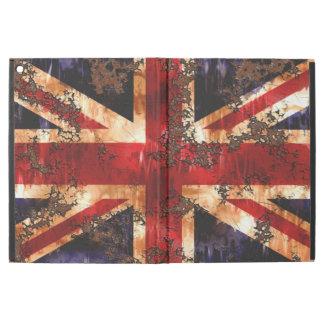 """Capa Para iPad Pro 12.9"""" Bandeira patriótica oxidada de Reino Unido"""