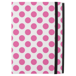 """Capa Para iPad Pro 12.9"""" Bolinhas cor-de-rosa"""