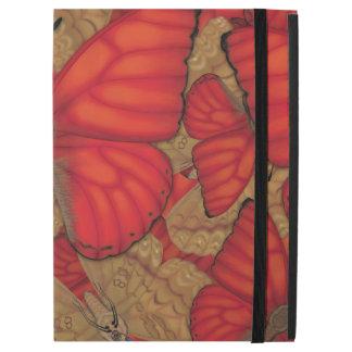 """Capa Para iPad Pro 12.9"""" Borboleta vermelha do planador do sangue"""