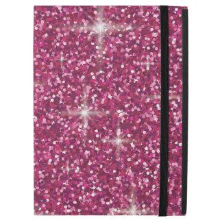 "Capa Para iPad Pro 12.9"" Brilho iridescente cor-de-rosa"