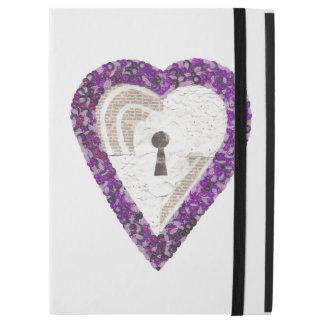 """Capa Para iPad Pro 12.9"""" Caixa da Eu-Almofada do coração do cacifo pro"""