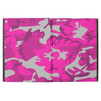 "Capa Para iPad Pro 12.9"" Camo cor-de-rosa"