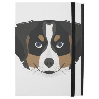 """Capa Para iPad Pro 12.9"""" Cão de montanha de Bernese da ilustração"""