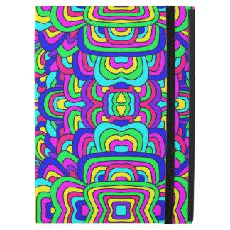 "Capa Para iPad Pro 12.9"" Caos colorido 5"
