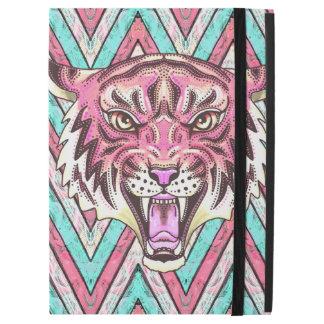 """Capa Para iPad Pro 12.9"""" caso cor-de-rosa do ipad da viga do tigre"""